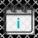 Information Calendar Icon