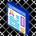 Information Chart Folder Icon