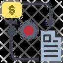 Exchange Information Job Icon