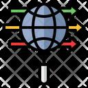 Information Exchange Transfer Data Icon
