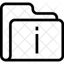 Information Folder Icon