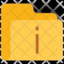 Information Folder Data Icon