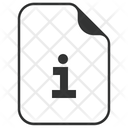 Information Info File Icon