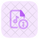 Information Music File Icon