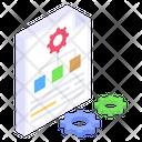 Workflow Organization Information Organization Information Management Icon