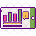 Information Presentation Online Presentation Information Report Icon