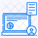 Information Resource Business Data Dedicated Resources Icon