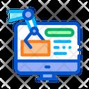 Information Retrieval Rpa Icon