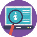 Information Search Process Icon