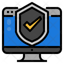Information Technology Security Icon