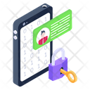 Mobile Access Information Security Mobile Protection Icon