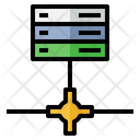 Information Service Database Server Icon
