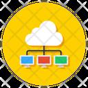 Information Technology Cloud Storage Cloud Computing Icon