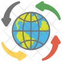 Global Communication Internet Icon