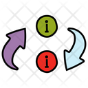 Information Transfer Data Transfer Data Exchange Icon