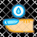 Nail Water Disease Icon