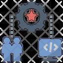 Infrastructure Organization System Icon
