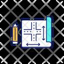 Infrastructure Blueprint Icon