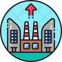 Infrastructure Efficiency Industry Performance Production Icon