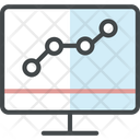 Infrastructure monitoring Icon