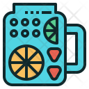 Infuse Water Fruit Icon