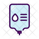 Infusion Transfusion Donation Icon