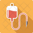 Infusion Blood Bag Icon