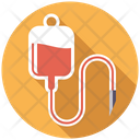 Blood Infusion Bag Icon