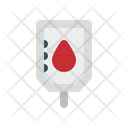 Infusion Drip Blood Icon