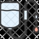 Dropper Infusion Drip Transfusion Icon
