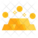 Gold Asset Wealth Icon