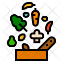Ingredient Shopping Food Icon