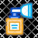 Medical Inhaler Aid Icon