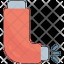 Asthma Inhaler Equipment Icon