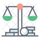 Inheritance Law Litigation Debt Collection Law Icon