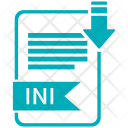 Ini File Format Icon