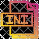 Ini File Format Type Icon