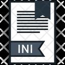 Ini Document File Icon