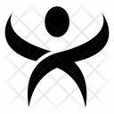 Initial X Human Icon