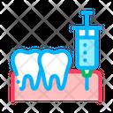 Stomatology Anesthesia Injection Icon