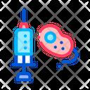 Injection Bacterium Syringe Icon