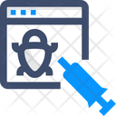 Hacking Webpage Hacking Cyber Icon