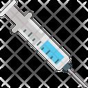 Injection Medical Syringe Icon