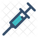 Injection Vaccine Medical Icon