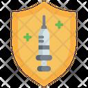 Injection Vaccination Syringe Icon
