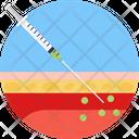 Injection Vaccine Immunization Icon