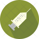 Injection Syringe Medical Icon