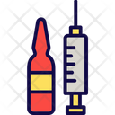 Injection Medication Phial Icon