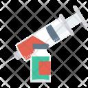 Injection Injector Syringe Icon