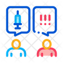 Injection Protest Icon